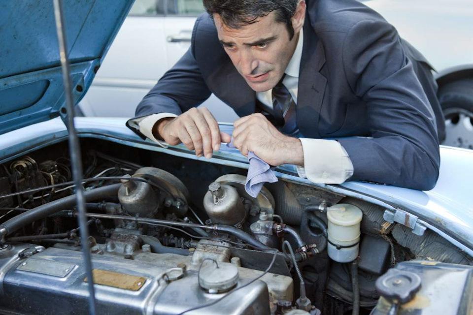 Проверка двигателя с помощью приложения