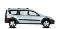 LADA (ВАЗ) Largus Cross CNG универсал - лого