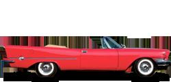 Chrysler 300 Letter Series кабриолет 1957