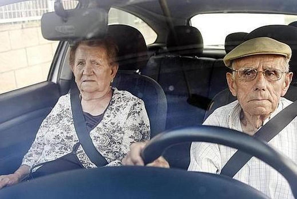 Пожилые водители