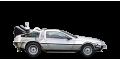 DeLorean DMC-12 Time Machine - лого