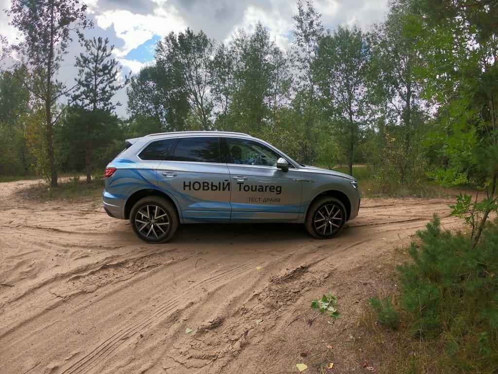 Volkswagen Touareg тест-драйв фото
