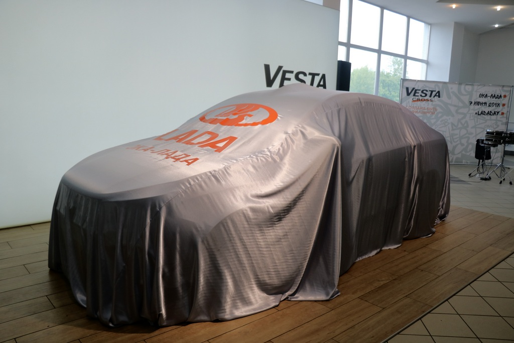 Презентация Lada Vesta Cross фото