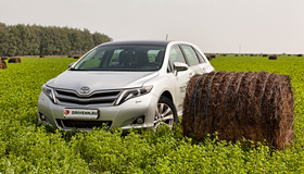 Toyota Venza: Универсальный кроссовер