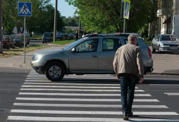 Пешеходный переход фото